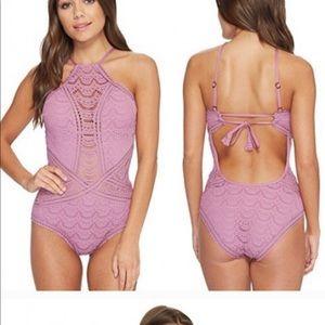 BECCA lace bathing suit